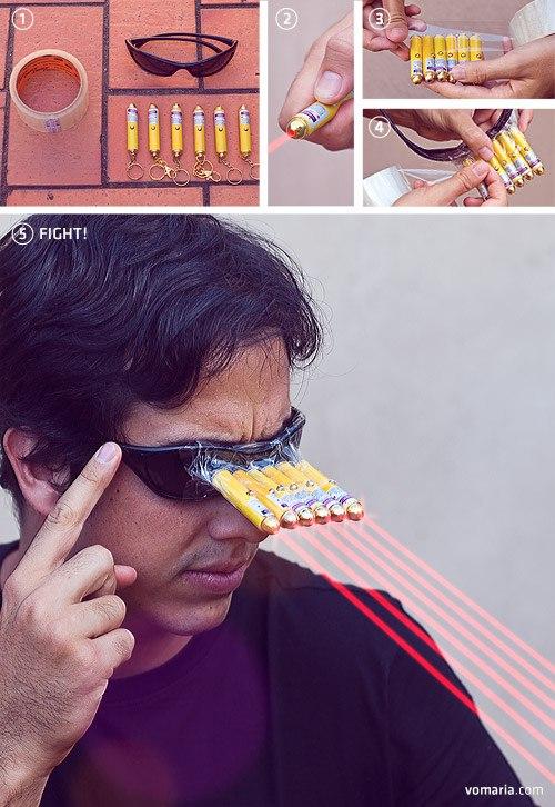 cyclops tabajara Como se transformar no Cyclops dos X men com menos de R$100!