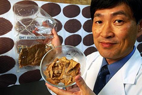 hamburguer de fezes Bizarro: japoneses criam hamburger vegetariano a base de fezes!