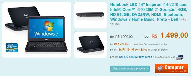 notebook barato Multifuncional por R$299,00, HD externo e Notebook em promoção:são as ofertas dos patrocinadores!