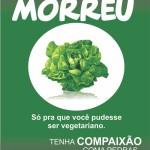 alface morreu 150x150 Humor:entenda por que o vegetarianismo é uma piada!