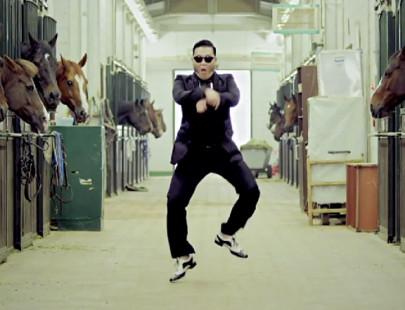 ganganam style 405x310 Chinês recria clipe de Gangnam style em animação no papel!