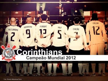 corinthians 2012 campeao 414x310 Corinthians Bi Campeão Mundial 2012   veja fotos para o facebook!