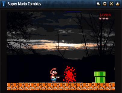 super mario zombie 406x310 Jogos do Mario: conheça aqui os melhores jogos pra baixar ou jogar online!