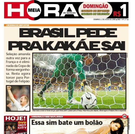 capa jornal meia hora 5 Meia Hora: as capas mais engraçadas desse jornal bizarro!