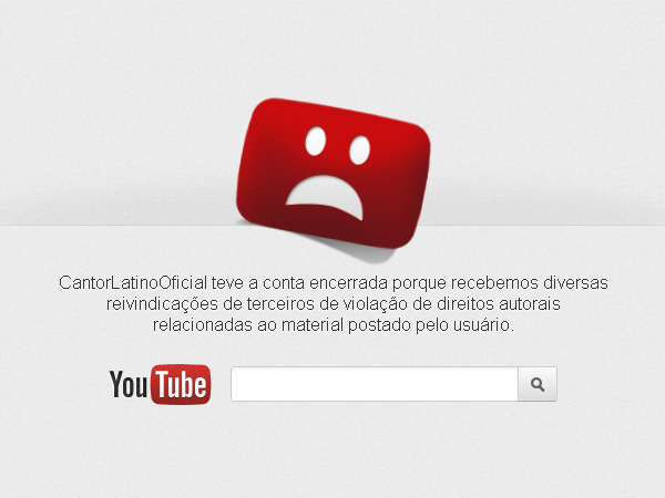 youtube fora do ar YouTube fora do ar? Será obra do Anonymous?