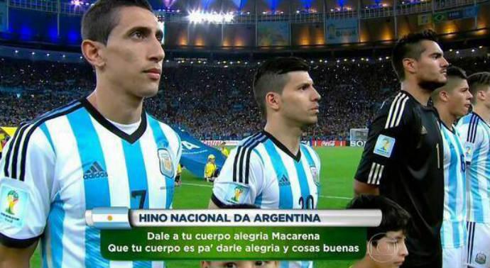 hino copa argentina zuera Copa 2014: fotos engraçadas, montagens e zueiras!