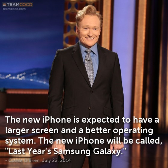 iphone 6 humor Iphone 6: novo iphone parece o samsung galaxy!