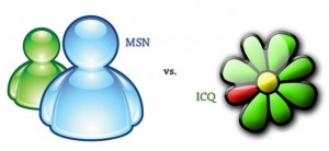 MSN vs ICQ