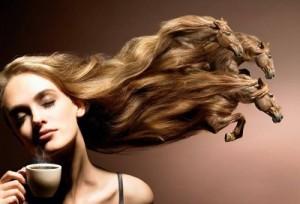 mulher cafe