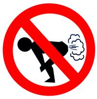 Internacional: país quer proibir peido em público!