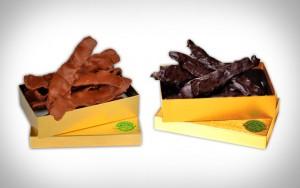chocolate bacon 300x188 Doce de bacon? Perfume de bacon ? Conheça 7 invenções que usam o Bacon como matéria prima!