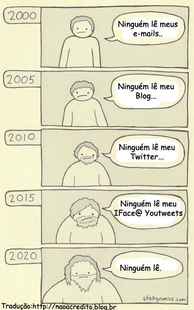 ninguem le Humor: ninguém lê meu blog...