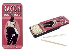 palito de bacon Doce de bacon? Perfume de bacon ? Conheça 7 invenções que usam o Bacon como matéria prima!