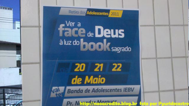 deus facebook Humor: Deus no Facebook