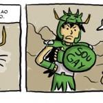 Humor: tirinhas dos Cavaleiros do Zodíaco !
