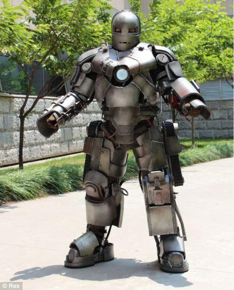 homem de ferro cosplayer
