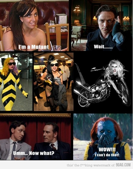 lady gaga x-men