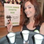 """Bizarro: bar da Nova Zelândia serve drink de """"leite de cavalo"""" !"""