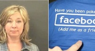 cutucar facebook Notícias bizarras: mulher vai presa por cutucar outra no Facebook!