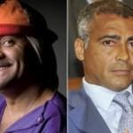 Notícias bizarras: Romário e Tiririca jogando no mesmo time?
