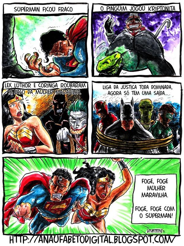 super homem axe Cultura nerd:liga da justiça cai no axé....