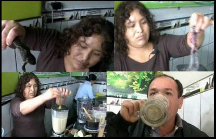 Notícias bizarras: suco de sapo faz sucesso no Peru!