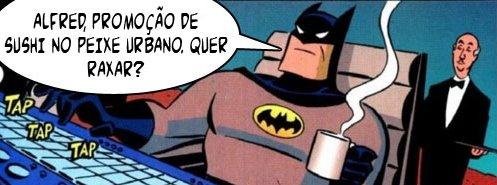 batman em crise Humor: super heróis também entram em crise!
