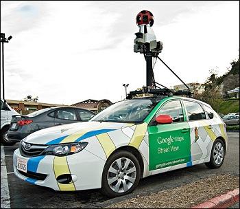 google maps Notícias bizarras: Google Street View vira caso de polícia!