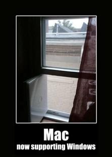 mac suportando windows