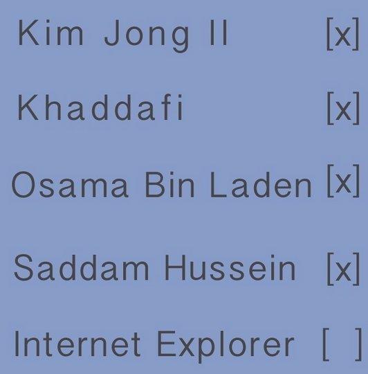 Vários líderes totalitários caíram em 2011, quem é o próximo?