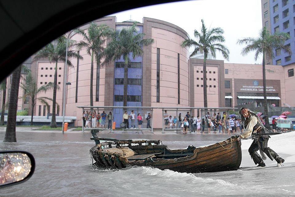 chuva no es 21 #chuvanoes: Espírito Santo é castigado pelas chuvas!