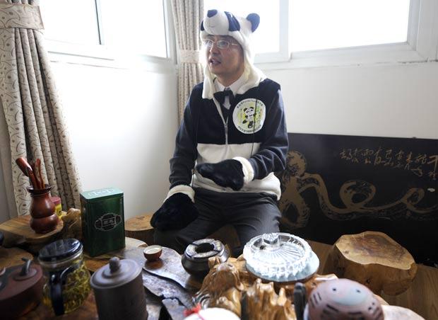 panda cha Notícias bizarras: chinês quer criar chá feito de fezes de panda!
