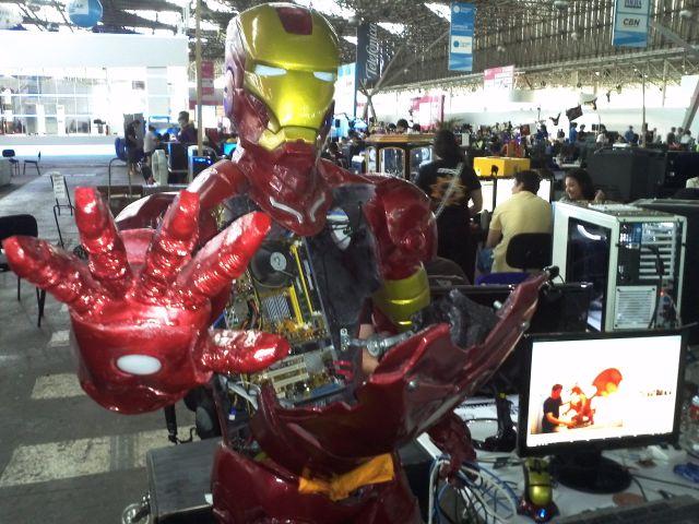 iron man Post Especial Campus Party: veja o que rolou por lá!