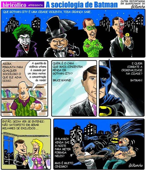 sociologia do batman Sociologia: a verdade sobre o Batman...