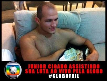 cigano 408x310 #Globofail: fãs de UFC revoltados com a Rede Globo