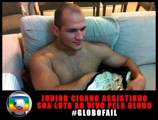 #Globofail: fãs de UFC revoltados com a Rede Globo