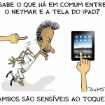 neymar cai cai ipad steve jobs 150x150 Cultura nerd:liga da justiça cai no axé....