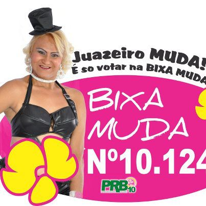 candidatos malucos 2012 bixa