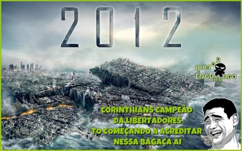 corinthians 2012 496x310 Corinthians campeão da libertadores 2012: veja imagens hilárias!