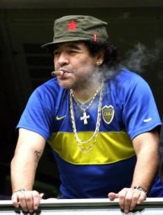 maradona boca 235x310 Corinthians campeão da libertadores 2012: veja imagens hilárias!