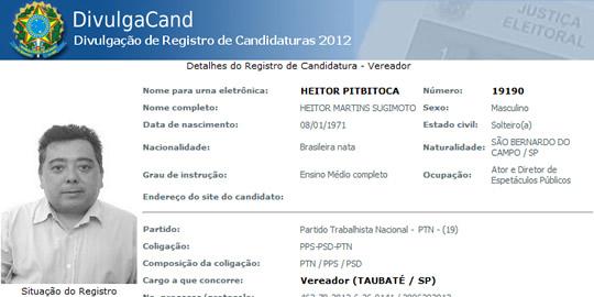 Candidatos engraçados 2012: veja o que vem por aí nas eleições!