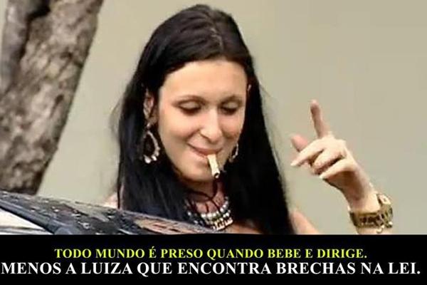 luiza As Brasileiras: Luiza, a bêbada de Vitória!
