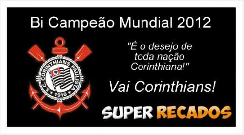 corinthians campeao mundial 2012 500x276 Corinthians Bi Campeão Mundial 2012   veja fotos para o facebook!