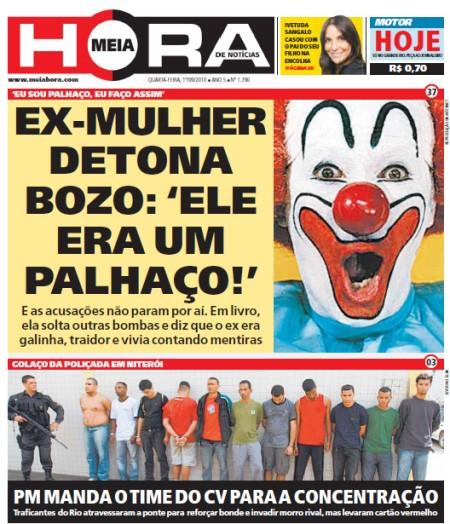 capa jornal meia hora 1 Bolsonaro participou de ataque terrorista e foi dispensado do exército? Saiba a verdade!