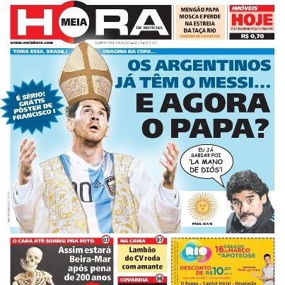 capa jornal meia hora 2 Meia Hora: as capas mais engraçadas desse jornal bizarro!