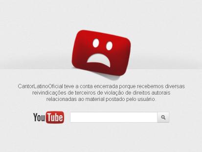 youtube fora do ar