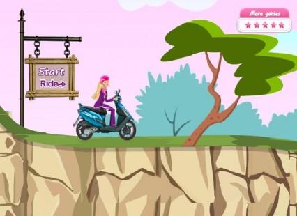 jogos de moto barbie