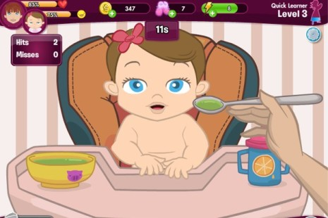 jogos de cuidar de bebe 465x310 jogos de cuidar de bebe