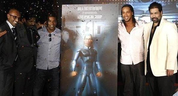 Ronaldinho gaucho estrela filme lutando contra aliens e Ets!