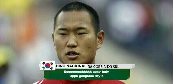 copa zoeira hino coreia Copa 2014: fotos engraçadas, montagens e zueiras!